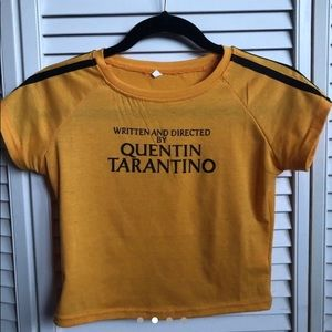 """Tops - """"Written and Directed by Quentin Tarantino"""" TShirt"""